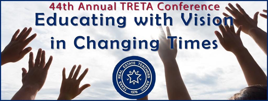 TRETA Conference logo